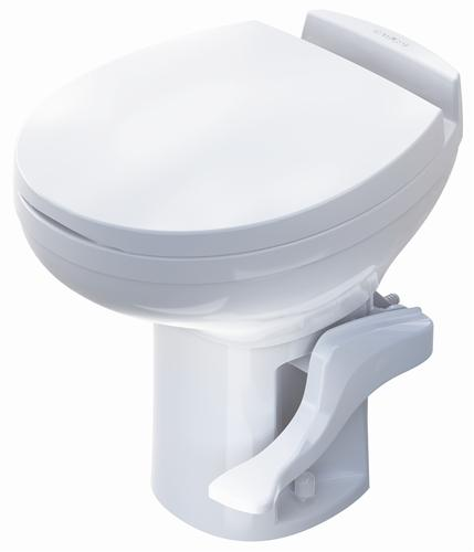 Thetford Aqua Magic Residence Commode RV Toilet 42169 Hi Profile White by Thetford