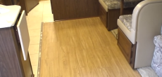 Allure vinyl planks in RV