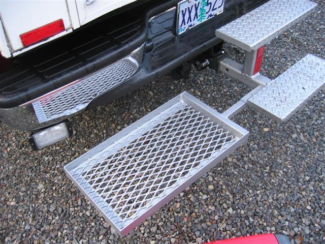 Honda Generator rear bumper platform