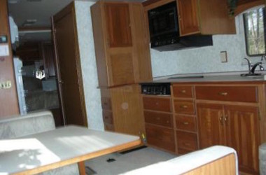 RV Renovation on a Winnebago Chieftain Interior