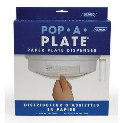 Camco Pop-A-Plate RV Paper Plate Management