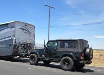 RV Towing Guide – 4 Wheels Down Cars