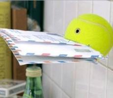 Re-purpose a Tennis Ball into a Handy Utility RV Mount