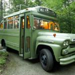 RV Remodel of a 1959 Chevrolet Viking Short Bus