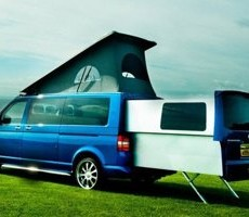 VW Doubleback Campervan: Fresh Approach