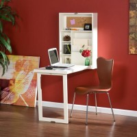 Fold Down RV Table White 3