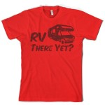 Funny RV T Shirt Red