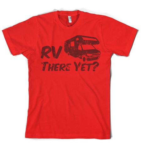 Funny RV Shirt Red