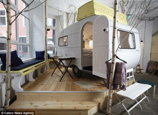 An Indoor Camping For All Seasons The RV Hotel