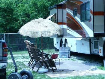 Outdoor RV TV