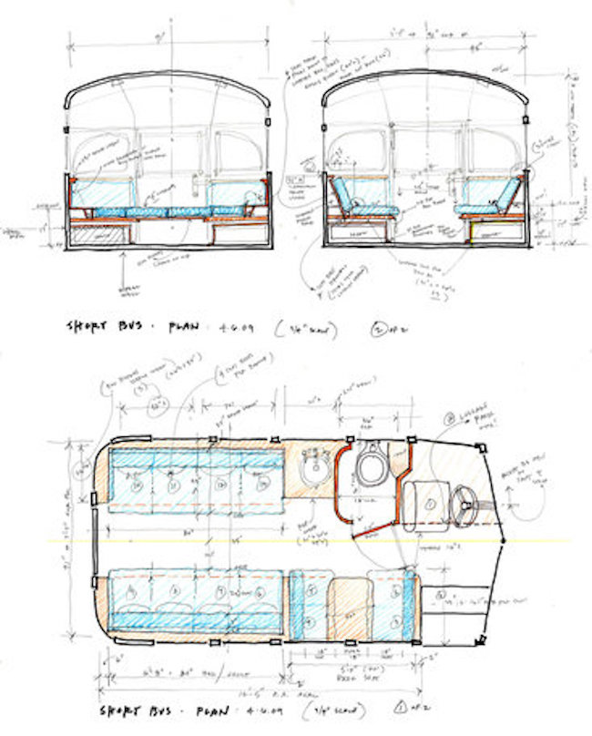 Plans to remodel the short bus