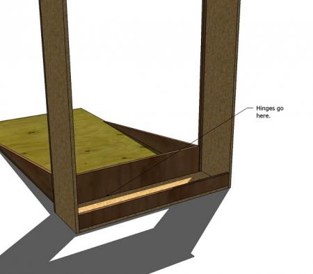 how to build a hideaway bed