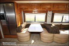 RV Booth Before -2008 Camelot 42DSQ