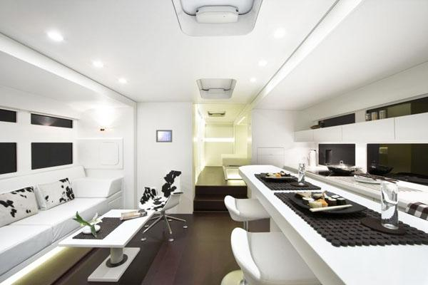 luxury rv of the future designed by architectural firm a. Black Bedroom Furniture Sets. Home Design Ideas