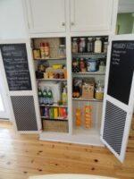 RV Mod Chalkboard Cabinet