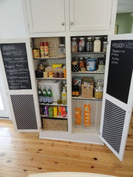 RV Mod: Cabinet Door Message Board Idea