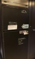 RV Mod Refrigerator Chalkboard Vinyl 2