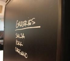 RV Mod: Refrigerator Chalkboard Vinyl