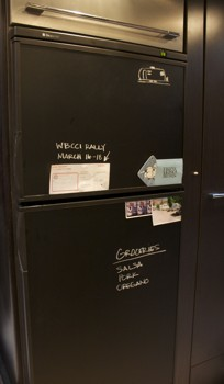 RV Mod Refrigerator Chalkboard Vinyl 6