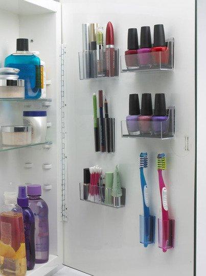 stickonpods help organize your rv bathroom. Black Bedroom Furniture Sets. Home Design Ideas
