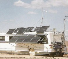 RV Solar Panels Roof Installation Overview