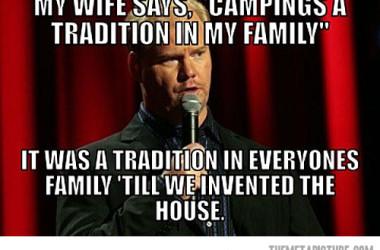 Funny RV: Jim Gaffigan – King Baby – Camping