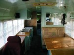 School Bus RV Conversion Finished Galley