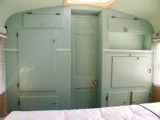 School Bus RV Conversion Finished Build Ins