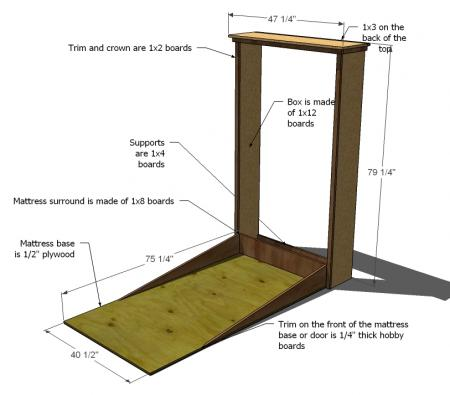 Rv Murphy Bed Idea Build Your Own Doityourselfrv Com