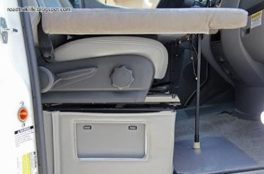 Folding Mattress for the Front Seats of your RV