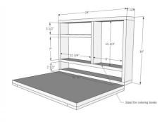 DIY RV Table Desk 7