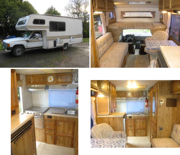 1986 Toyota Dolphin Rv Remodel Whats Old Is New Again