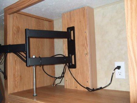 Articulating Inside Cabinet Mount RV TV MOUNT