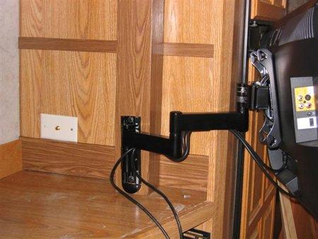 Articulating Installed Inside Cabinet