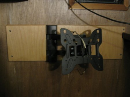 Articulating Mount Plywood
