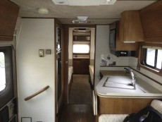 BEFORE RV REMODEL 1990 Barth Regal 3