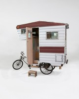 Custom RV Art Camper Bike 6