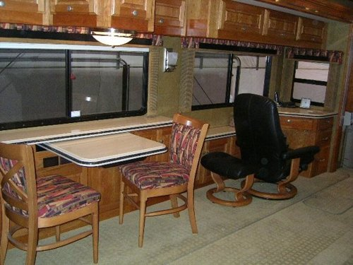 RV Mod One Of A Kind Dinette Table Elegant And Space