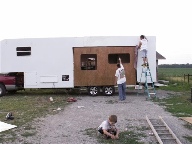 Rv Slide Covers : Diy rv slide out cover do it your self