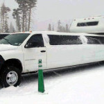 Funny RV: Truck Camper Stretch Limo