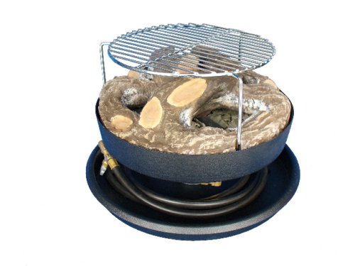 Small Portable Fire Pits : Portable propane outdoor campfires over btus