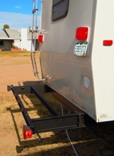 Rv Cargo Deck Mod Idea Custom Built Free Up Rv Space