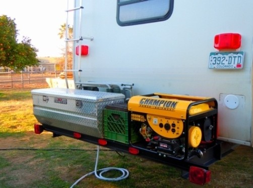Camp Kitchens For Camper Trailers RV Cargo Deck Mod Idea: Custom Built - Free Up RV Space
