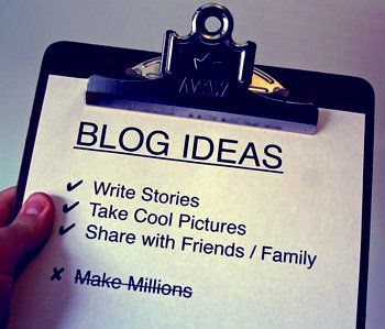 RV Blog how to Create