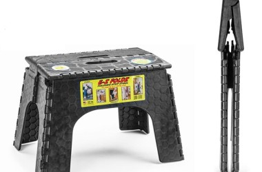 RV Step Stool: B&R EZ Foldz Step Stool