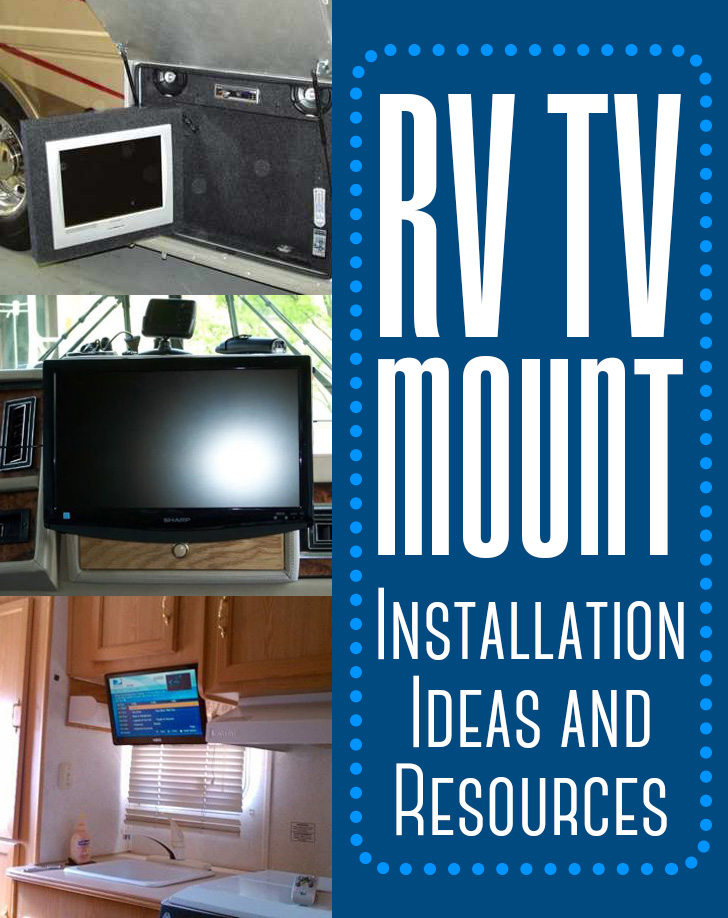 RV TV Mount Installation Ideas and Resource - Examples and