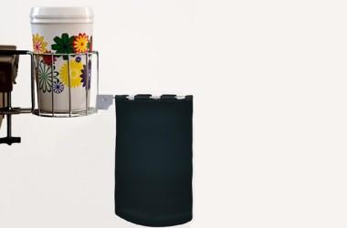 Mobile RV Cup Holder and Trash Bag: Scrap-Ma-Bob