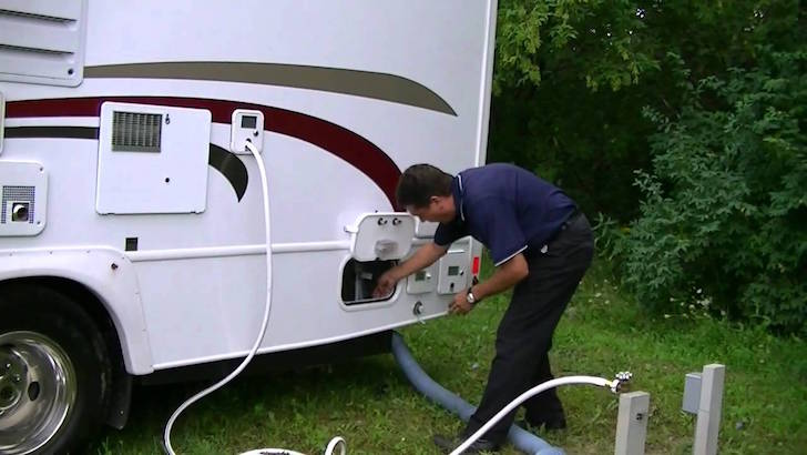 Rv water hookup tips