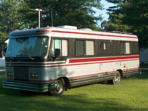*Exterior of 1990 Barth Regal