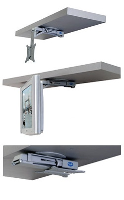 Under Cabinet RV TV MOUNT